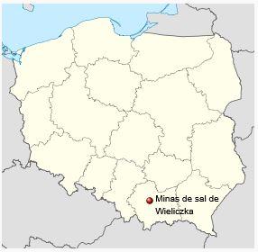 Ubicación de las Minas de Sal.
