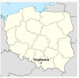 Ubicación de Wadowice