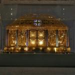 Reliquias de Hildegarda de Bingen en la Iglesia de Eibingen.